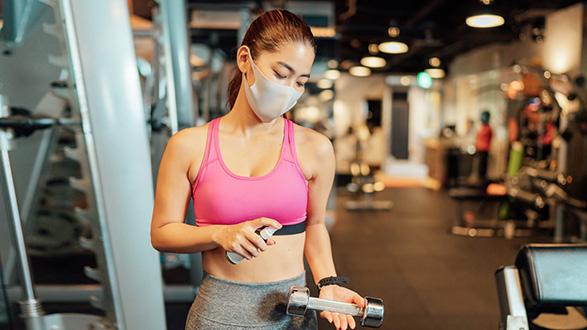 COVID 19 Gym Clean